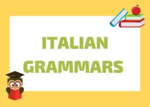 Italian grammar books
