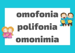 omonimia omofonia polisemia