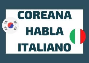 Coreana habla italiano