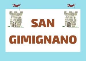 San Gimignano Italia Helado