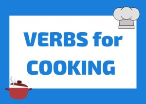 Italian cooking verbs