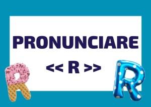 pronunciare R vibrante italiana