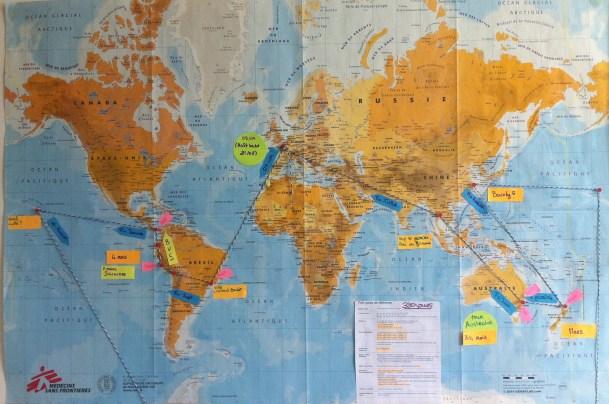 RECIT PARIS| Définir notre itinéraire