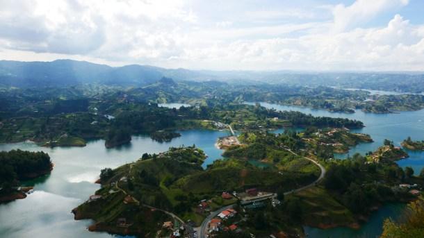 COLOMBIE l Guatapé, au cœur de la magnifique campagne colombienne!