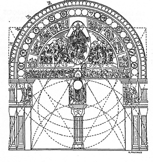 Arch Zodiac Drawing