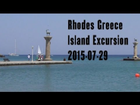 Rhodes Greece Island Tour