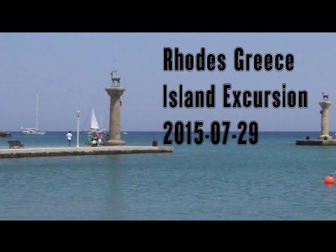 Rhodes Greece Island Tour