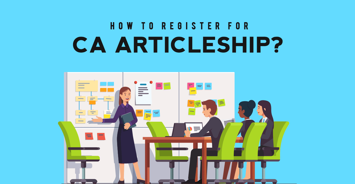 How to register for CA Articleship