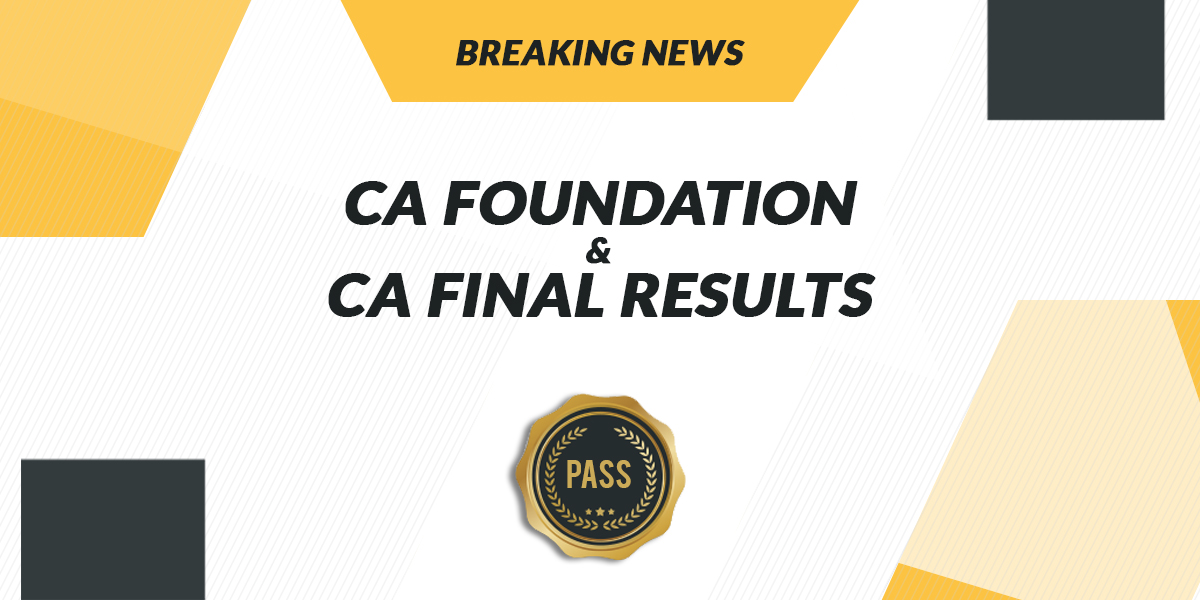 Important Announcement from ICAI CA Final Result for November 2018