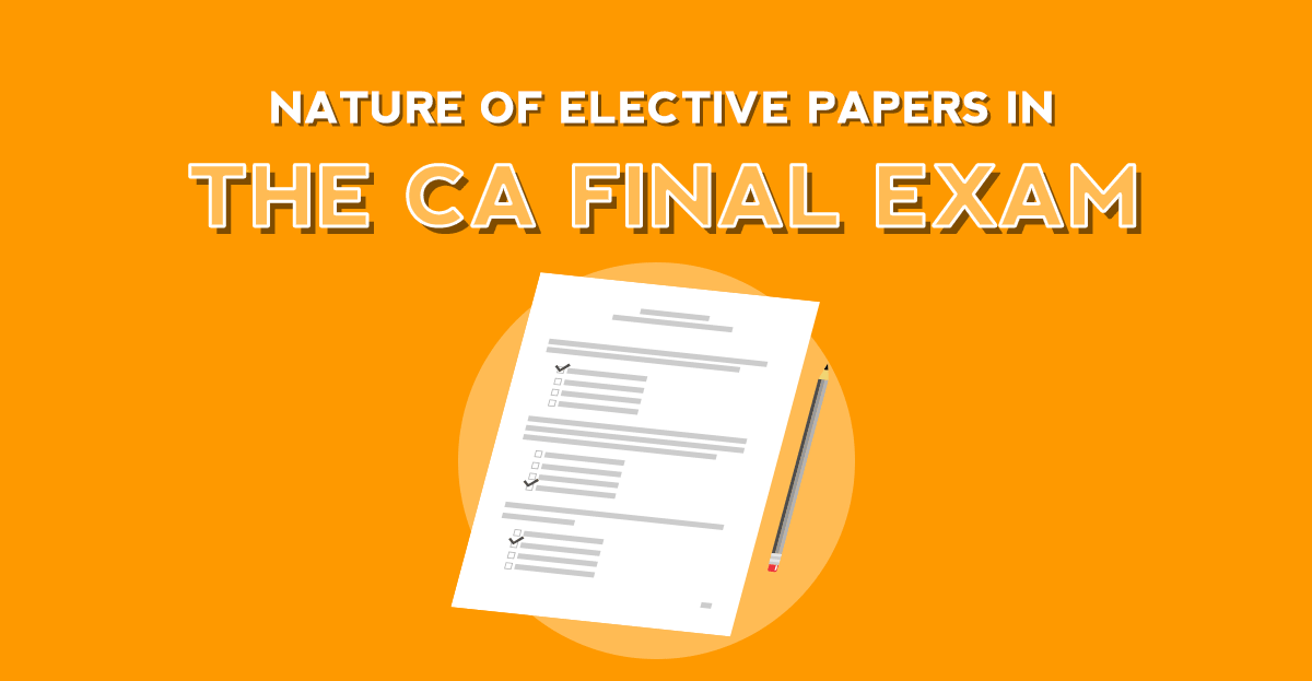 What are the CA Final Elective Papers?