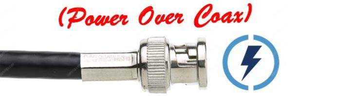 Power over Coax
