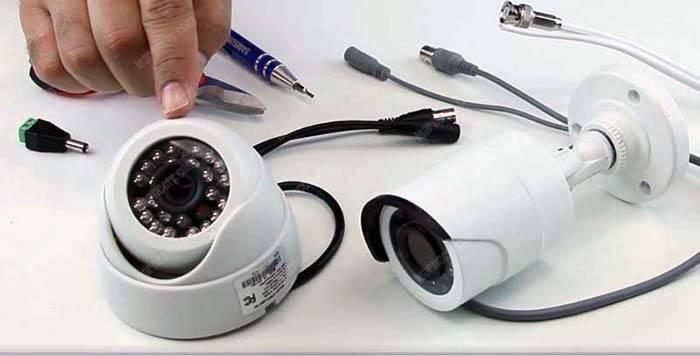 Camera mái vòm CCTV