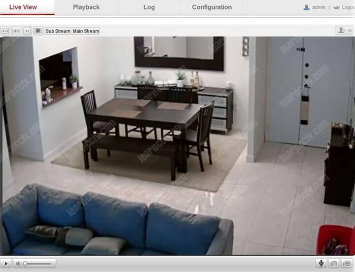 Truy cập camera Hikvision qua trình duyệt Web