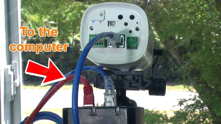 Camera an ninh IP cho máy tính