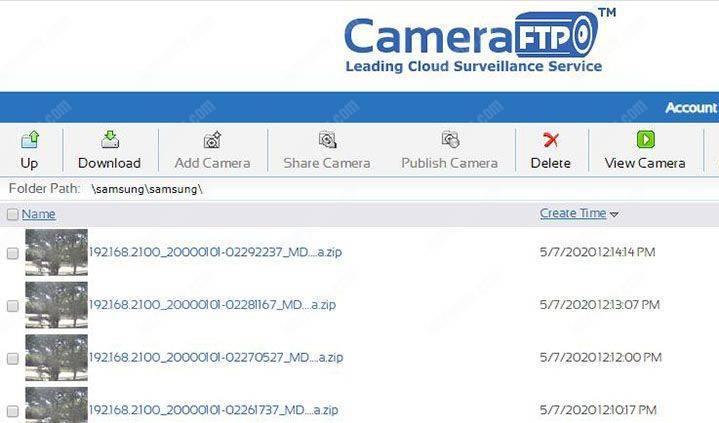 Tệp CameraFTP