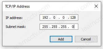 Địa chỉ ID máy tính cho giao tiếp TFTP