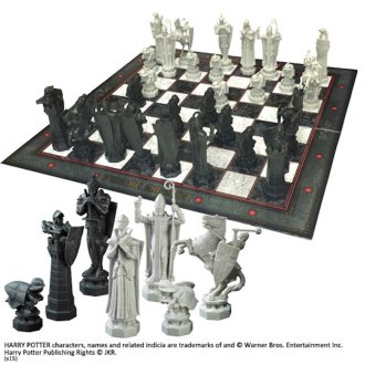 Harry Potter chess set, Harry Potter chessboard