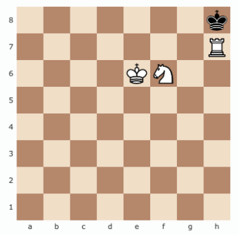 Checkmate with Rook & Knight in Chess