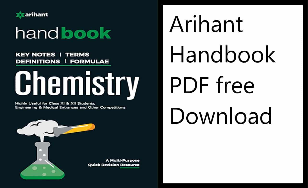 Arihant Handbook of Chemistry PDF free download