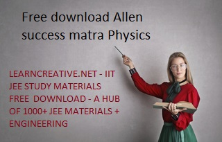 Free Allen success mantra Physics PDF