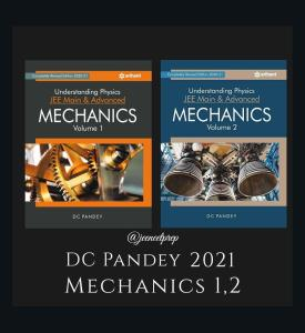 DC Pandey Physics PDF for Mechanics Part 1 and 2