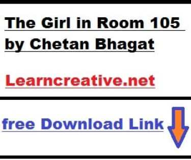 The Girl in Room PDF by Chetan Bhagat