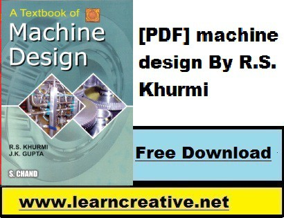 [PDF] machine design By R.S. Khurmi