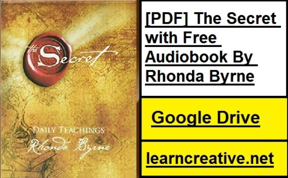[PDF] The Secret with Free Audiobook By Rhonda Byrne