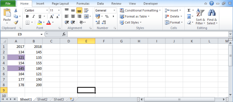 Compare-two-columns-in-excel-5