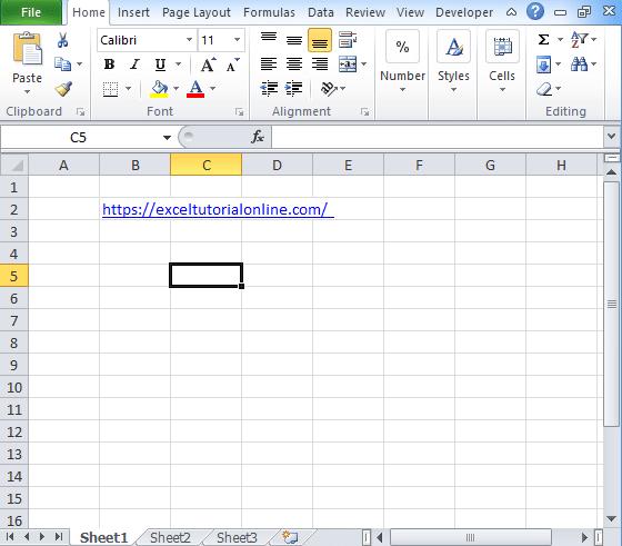 Excel-hyperlink-function