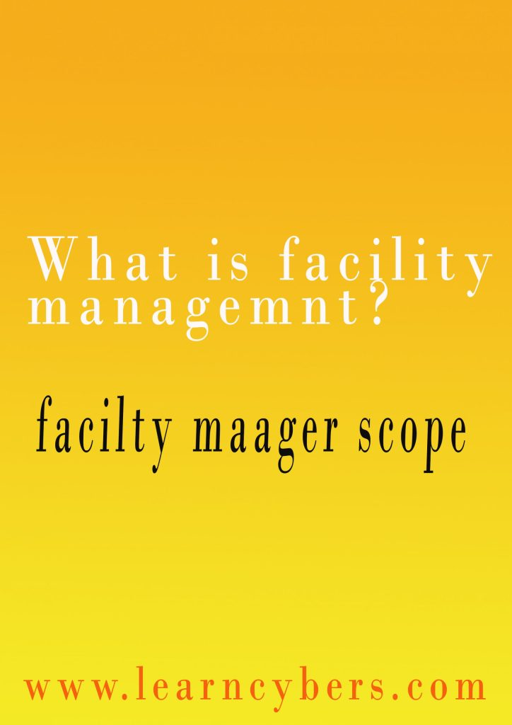 What are facility management's best top12 benefits? 1