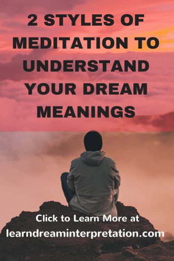 Meditation Dream Meanings