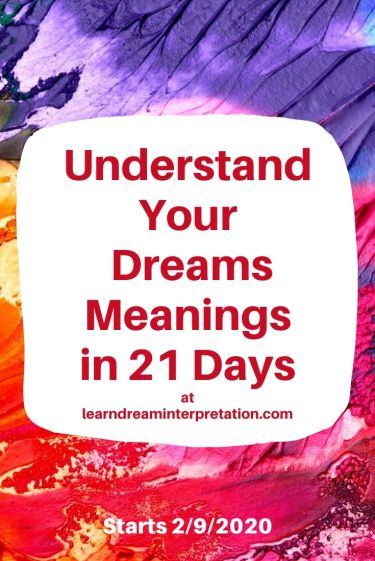 21 Days to learn your dream meanings