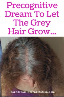 Embrace the Grey Hair Dream