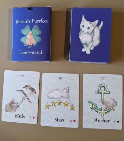 Merlin's Purrfect Lenormand