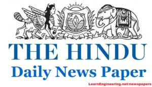 THE HINDU Newspapers PDF