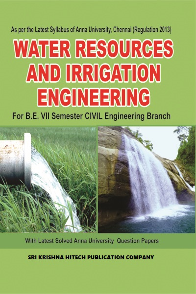 CE6703 Water Resources and Irrigation Engineering