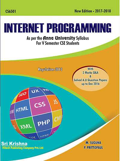 PDF] CS6501 Internet Programming Lecture Notes, Books
