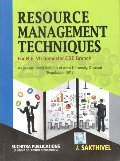 CS6704 Resource Management Techniques