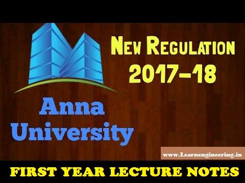 PDF] Anna University First Year Second Semester [R2017