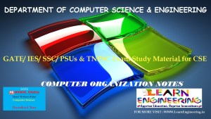 [PDF] GATE Exam Study Material for CSE   IES/ SSC/ PSUs & TNPSC Exam Study Material for CSE   Computer Organization Notes   By Made Easy Hand Written Notes Free Download