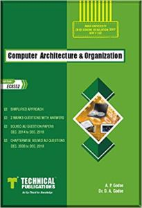 EC8552 Computer Architecture and Organization
