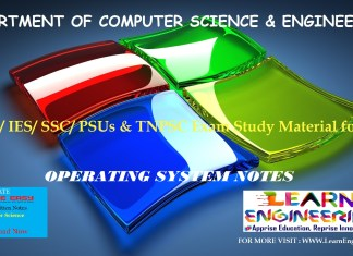 [PDF] GATE Exam Study Material for CSE | IES/ SSC/ PSUs & TNPSC Exam Study Material for CSE | Operating System Notes | By Made Easy Hand Written Notes Free Download