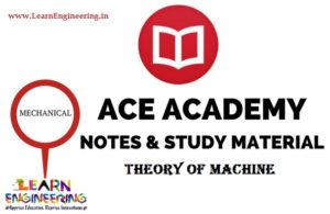 Ace Academy Theory of Machine Handwritten Notes