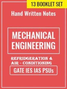 Learn Engineering Team Refrigeration & Air Conditioning Handwritten Notes
