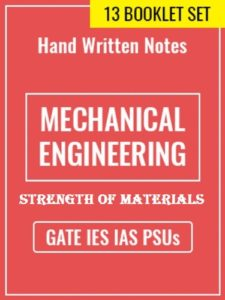 Learn Engineering Team Strength of Materials Handwritten Notes