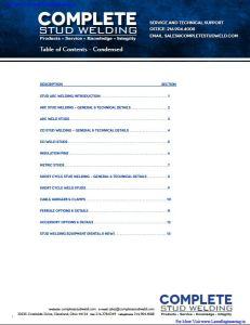 Complete Stud Welding By Complete Stud Welding & Co