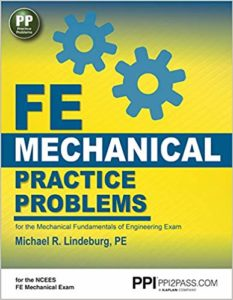 Mechanical Fundamentals of Engineering Exam By Michael R Lindeburg