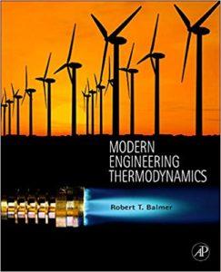 Modern Engineering Thermodynamics By Robert T. Balmer