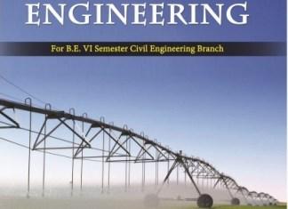 CE8603 Irrigation Engineering